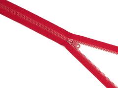 Reißverschluss YKK - dunkelrot - 25-80cm - teilbar