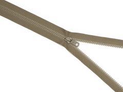 Reißverschluss YKK - mittelbraun - 25-80cm - teilbar
