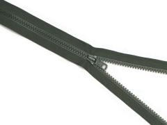 Reißverschluss YKK - oliv - 25-80cm - teilbar