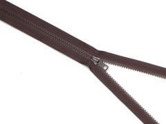 Reißverschluss YKK - palisander - 80cm - teilbar 80 cm