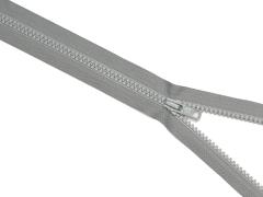 Reißverschluss YKK - grau - 35cm - teilbar 35 cm