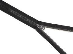 Reißverschluss YKK - schwarz - 25-80cm - teilbar