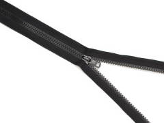 Reißverschluss YKK - schwarz - 60cm - teilbar 60 cm