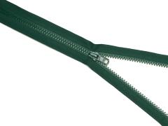 Reißverschluss YKK - dunkelgrün - 25-80cm - teilbar
