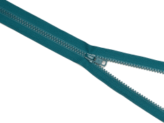 Reißverschluss YKK - petrol - 25-80cm - teilbar