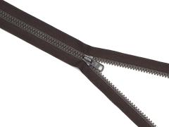 Reißverschluss YKK - schwarzbraun - 25-80cm - teilbar