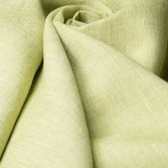 Leinen - glatt - Adele - hellgrün