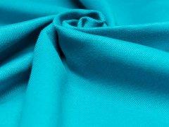 BIO Feinripp Jersey - Kim - pagoda blue