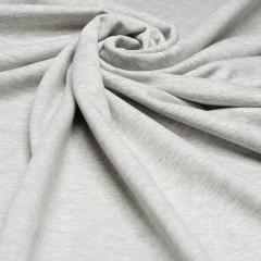 Reststück 55cm - BIO Jersey Single - Fenja - grau meliert