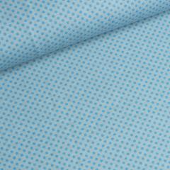 Jersey Single - Punkte - blau