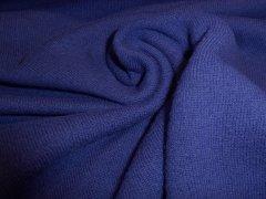 Merino SOFT - Strick - blau Reststück 0,60m