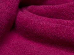 Reststück 0,40m - BIO Baumwoll Teddy - Albstoffe - pink