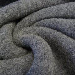 BIO Wollfleece Merino - grau