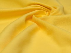 Reststück 0,90m - BIO Feinripp Jersey - Kim - gelb