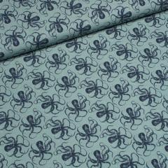 Popeline - Squidies - Tintenfisch - Hilco - grün