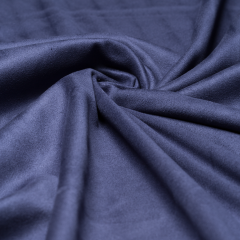 Wildleder - Imitat - dunkelblau