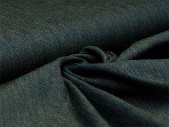 Jeans - melange - dunkelgrün - gelb