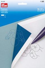 Transferpapier - Prym - weiß - blau