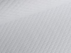 Baumwollstepp - weiß