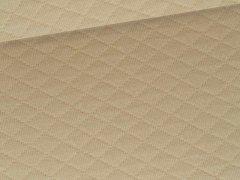 Reststück 0,70m - Baumwollstepp - beige