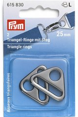 Triangel-Ringe - 25 / 40mm - Prym - gunmetal