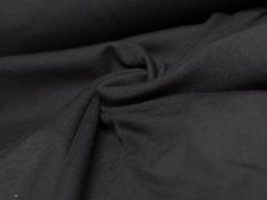 Jersey Single - uni - schwarz