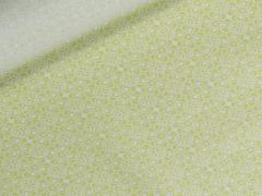 Wachstuch - Blumen - Tante Ema - hellgrün