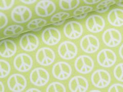 Jersey Single - Peace - call for peace - lycklig design - Hilco - grün