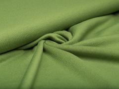 Merino Jersey Strick - grün