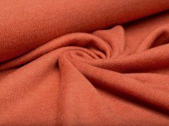 Merino Jersey Strick - orange