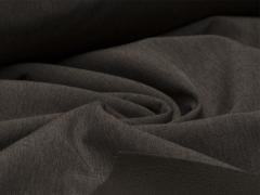 Reststück 0,70m - Softshell - meliert - braun - schwarz