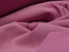 Softshell - meliert - rosa - weiß