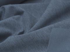 Softshell - meliert - rauchblau - schwarz