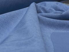 Softshell - meliert - blau - hellblau