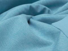 Softshell - meliert - blau - weiß