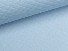 Baumwollstepp - hellblau