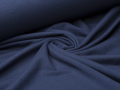 Modal Jersey - uni - dunkelblau