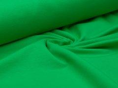 Reststück 0,55m - Sweat - grün - French Terry - ungeraut