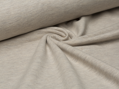 Sweat - beige - meliert - angeraut