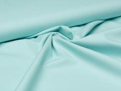 Baumwolle - uni - mint