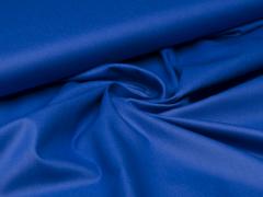 Reststück 0,45m - Baumwolle - uni - kobalt blau
