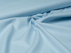 Baumwolle - uni - baby blau