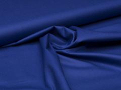 Reststück 0,35m - Baumwolle - uni - dunkel kobalt blau