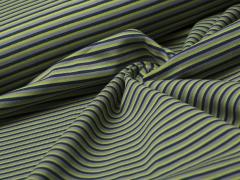 Jersey Single - Parade Stripe - Streifen - dunkelblau - grün - grau