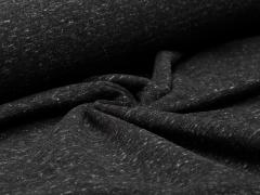 Sweat - schwarz - meliert - angeraut