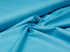 Baumwolle - uni - sky blue