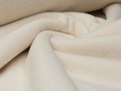 Reststück 0,45m - BIO Fleece  - natur