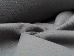 Bündchen Feinripp - Cosy Colours - dunkelgrau
