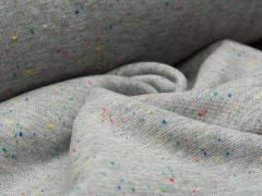 Bündchen Feinripp - Cosy Colours - grau meliert