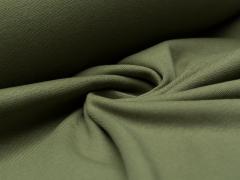 Bündchen Feinripp - uni - olivgrün